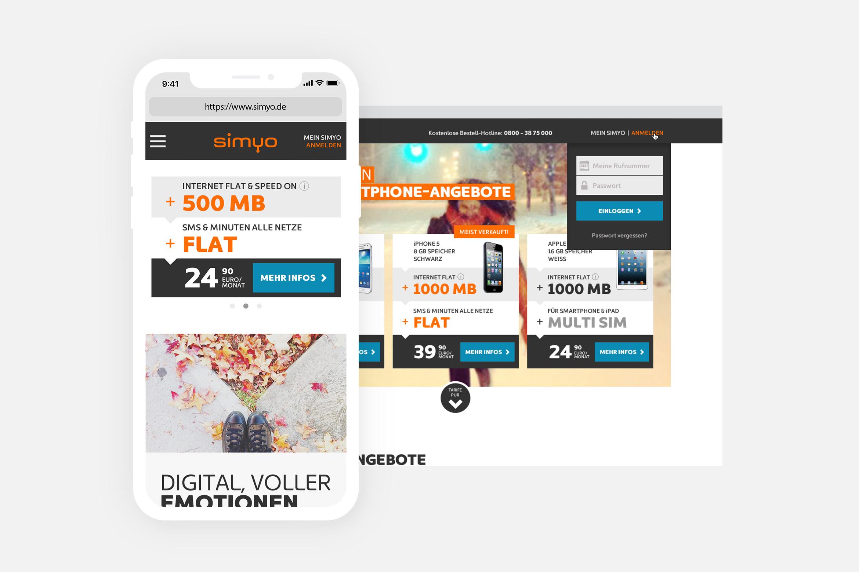 Simyo Website